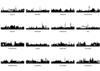 Royalty free images of skylines