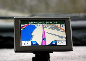 Image of a navigation technology with display