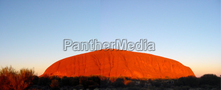 ayers rock panorama