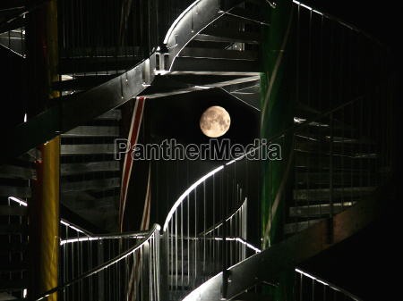 staircase to the moon