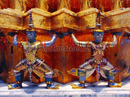 temple, guardian, in, wat, phra, kaeo - 68767