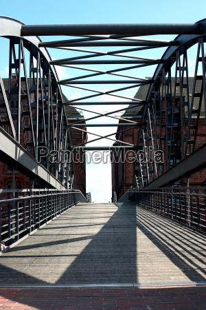 bridge, in, the, speicherstadt - 127264