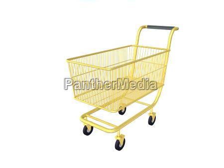cart, gold - 139612