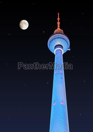 berlin, tv, tower, at, alex - 150194