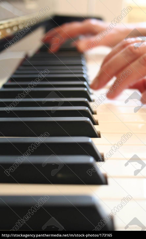 piano, playing, 2 - 173165