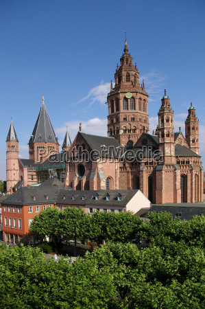 the, mainz, cathedral - 177172