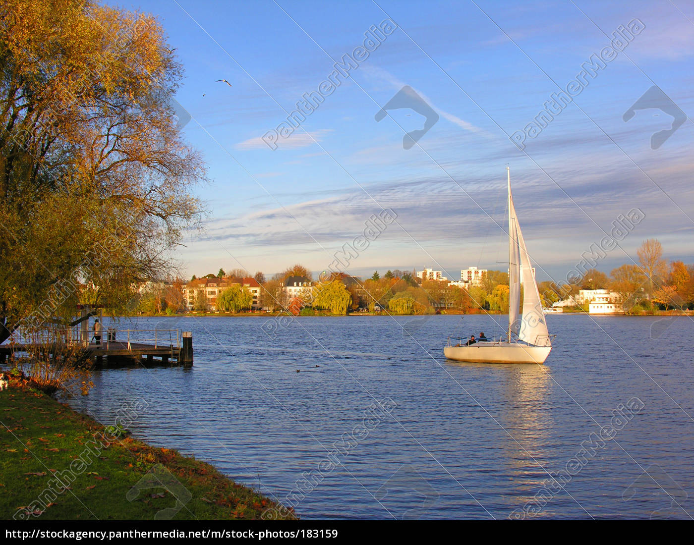 autumn, sailing - 183159