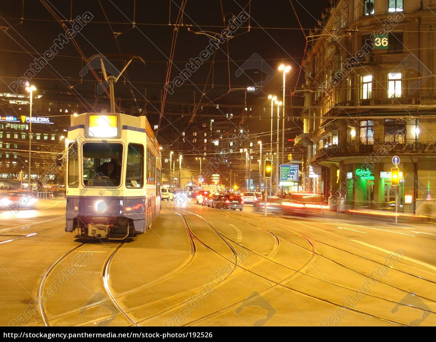 tram, station, square, zurich - 192526