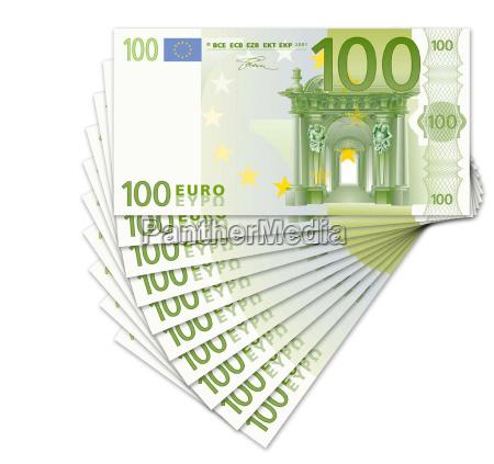 money, trays - 200846