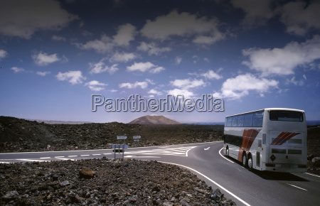 bus, tour, in, lanzarote - 205326