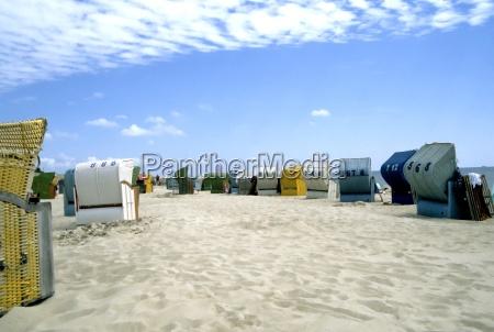 beach, baskets, on, the, north, sea - 208520