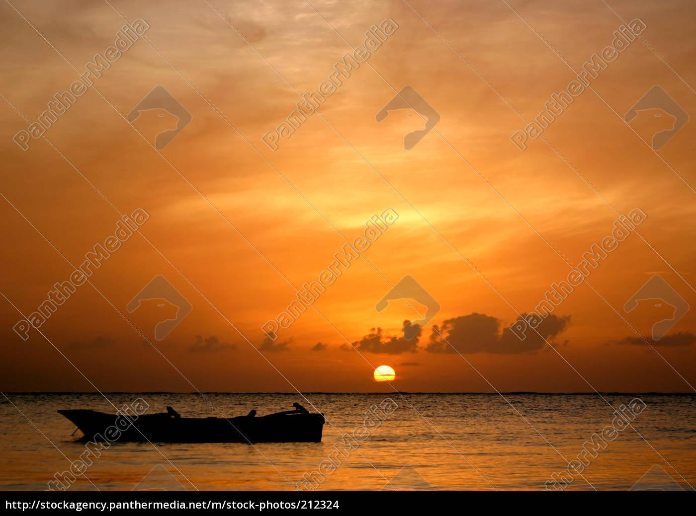 sundown, in, africa - 212324