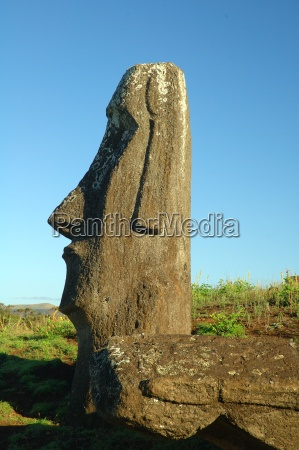 moais, at, rano, raraku - 219813