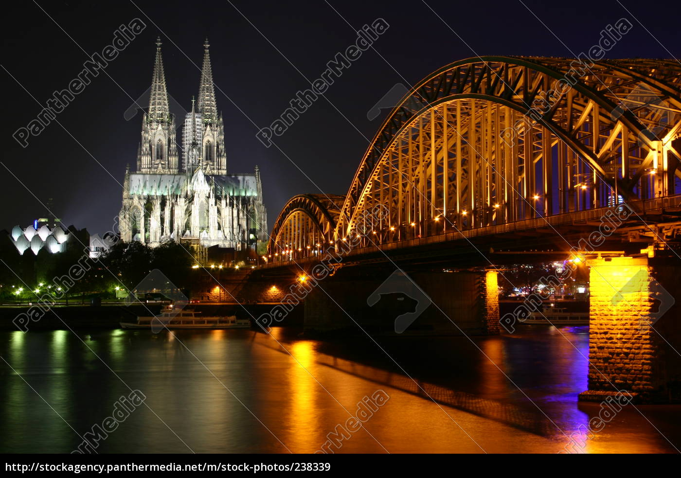 cologne, cathedral, at, night - 238339