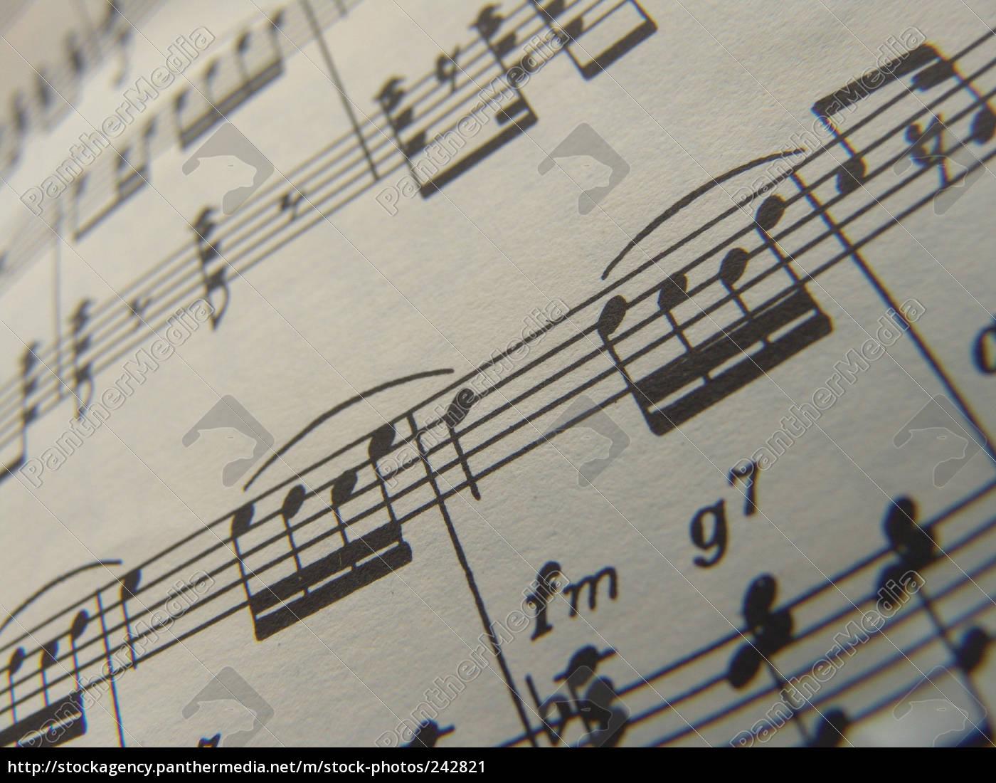 sheet, music - 242821