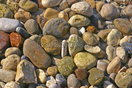 stone beach seaside the beach seashore