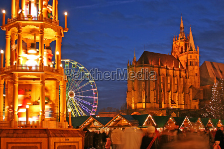 christmas market erfurt iii