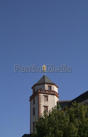 blue tower location shot fortress firmament