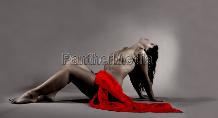 the red cloth