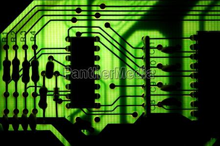 electronics engineering printed circuit board chip