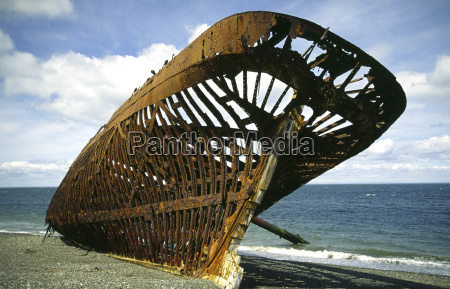 shipwreck in patagoniachile