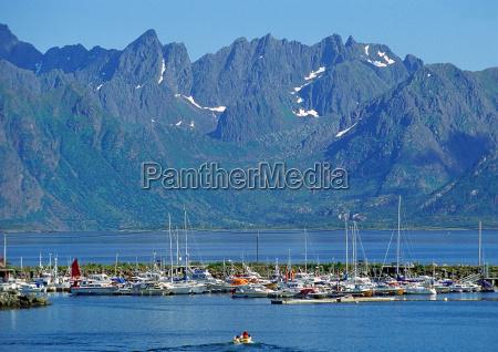 views of the lofoten archipelago