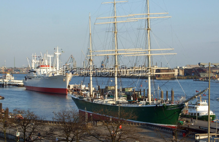 museum, ships, in, hamburg - 1213995