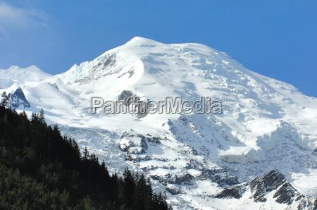 europe france montblanc chamonix rhne alpes