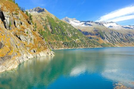 austrians europe artificial lake tyrol zillergruendl