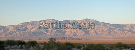 montanhas deserto por do sol panamint