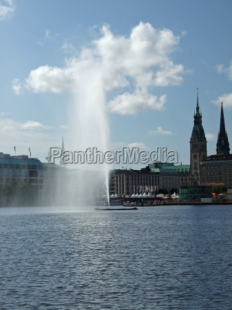 alster, fountain - 1469747