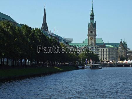 alster, promenade - 1469735