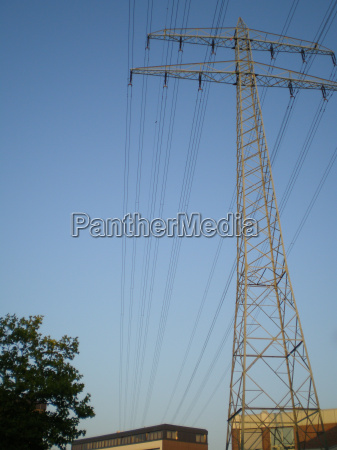poder mastro eletrica pole cabo