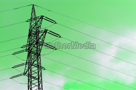 energy power electricity electric power mast