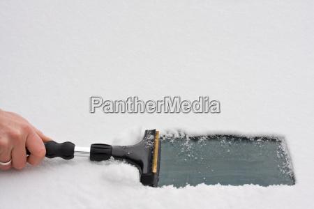 scraping, ice - 1698805