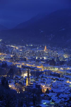 ciudad de garmisch partenkirchen en la