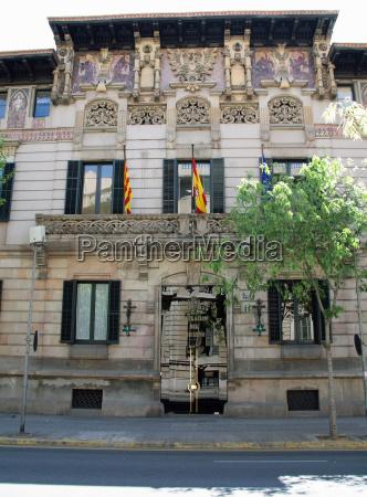 casa construcao espanha palacio palau barcelona