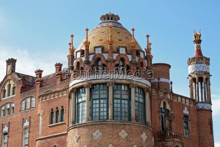 espanha hospital barcelona santa creu sant