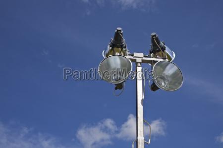 mobile outdoorlichtanlage