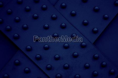 iron steel metal rivet dark blue