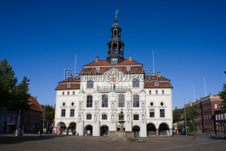 lüneburg, town, hall - 2263033