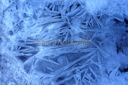 blue, winter, cold, ice, frost, snow - 2286469