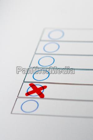 voting decision