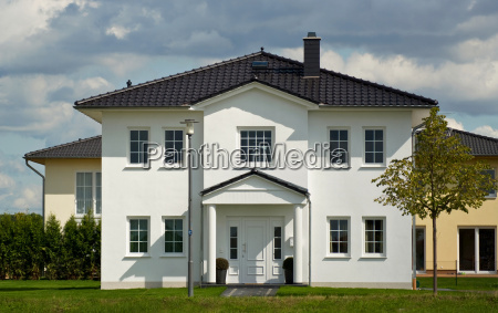 single family housethe house with a