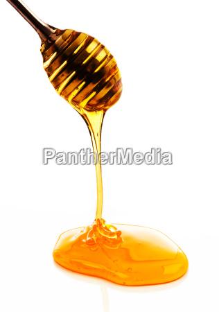 dulces sabor ejecutar cuchara amarillo miel