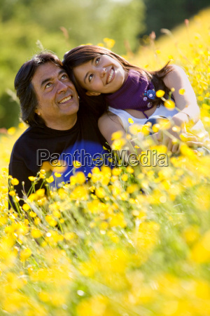 father, and, daughter, portrait - 2699402