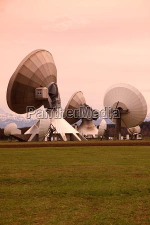 parabolic antennas raisting