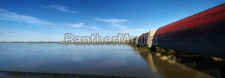 panorama eidersperrwerk north sea
