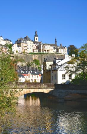 en ciudad de luxemburgo barrio de