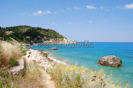 lefkada, west, coast - 5189779